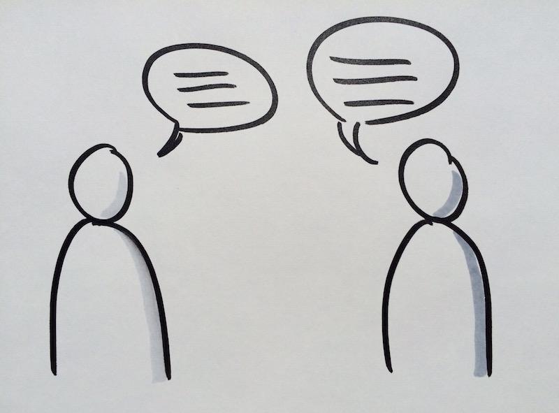 Coaching - mit sich im Dialog