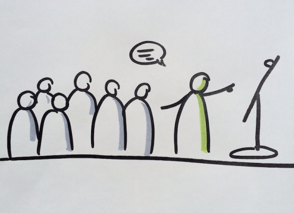 Moderation - Dialog in Gruppen